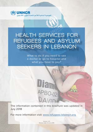Health services for refugees and asylum seekers in Lebanon