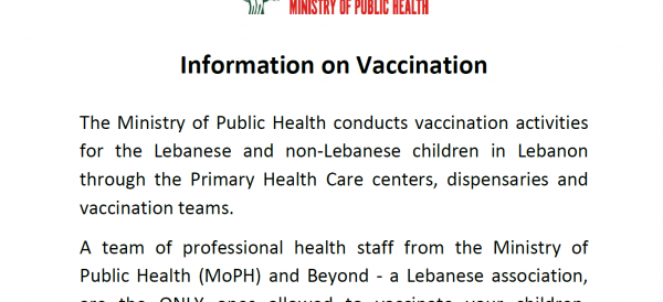 Information on Vaccination